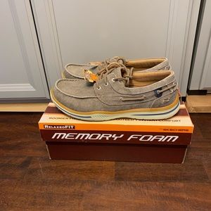 New Skechers Horizon canvas vintage washed relaxed